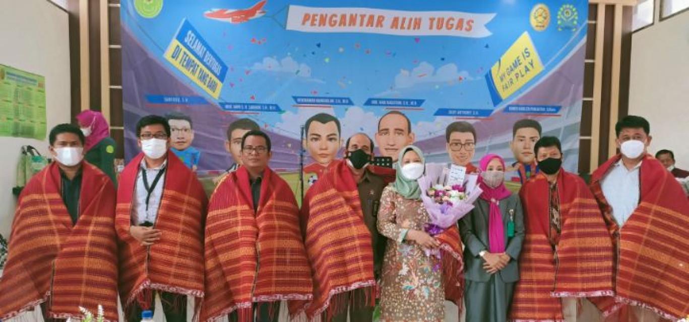 Pengantar Alih Tugas Hakim dan Pegawai Pengadilan Negeri Simalungun tetap Jaga ProKes
