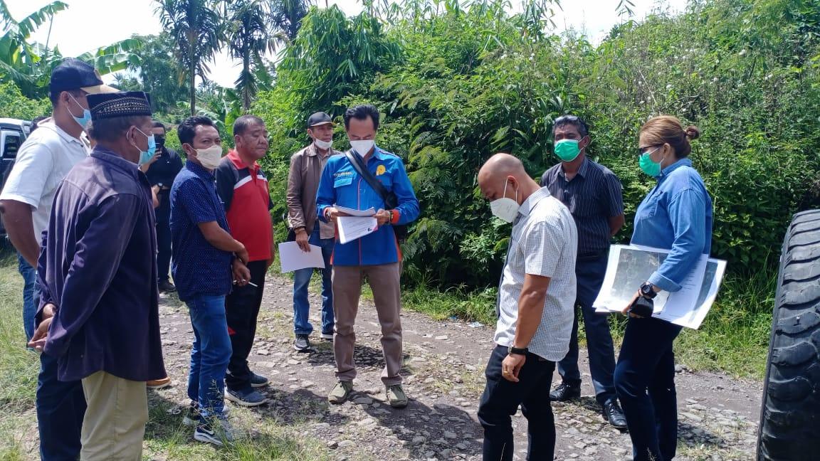 Pengadilan Negeri Simalungun Melakukan Pemeriksaan Setempat di Saribu Jandi Kabupaten Simalungun