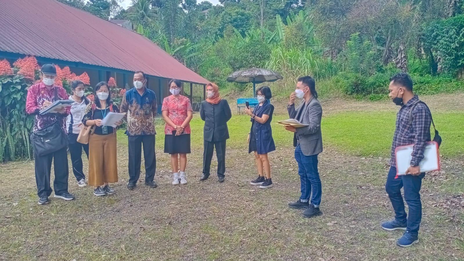 Pengadilan Negeri Simalungun Melakukan Pemeriksaan Setempat di Kel. Parapat, Kec. Girsang Sipangan Bolon Kabupaten Simalungun