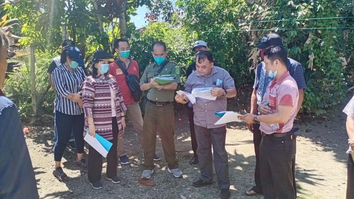 Pengadilan Negeri Simalungun Melakukan Pemeriksaan Setempat di Kecamatan Girsang Sipangan Bolon, Parapat, Kabupaten Simalungun