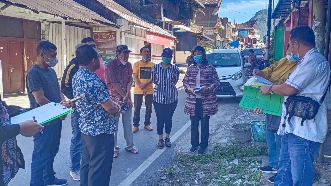 Pengadilan Negeri Simalungun Melakukan Pemeriksaan Setempat di Parapat Kabupaten Simalungun