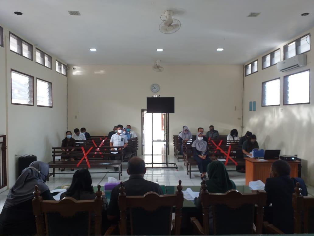 Rapat Laporan Pengawasan Bidang